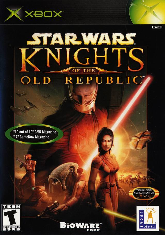 Star Wars Knights Of Old Republic Xbox