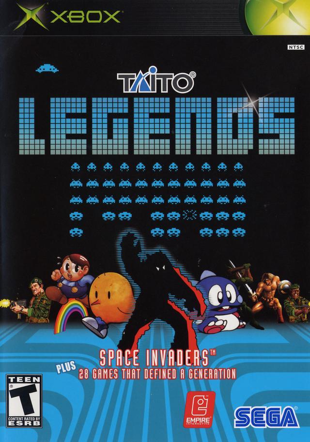 taito legends xbox