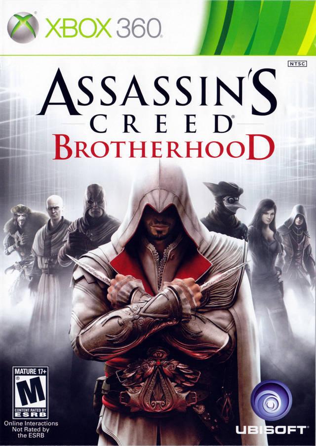 Assassins Creed Brotherhood Xbox 360 Game