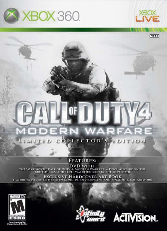 Call of Duty 4: Modern Warfare Microsoft Xbox 360 2007 ...