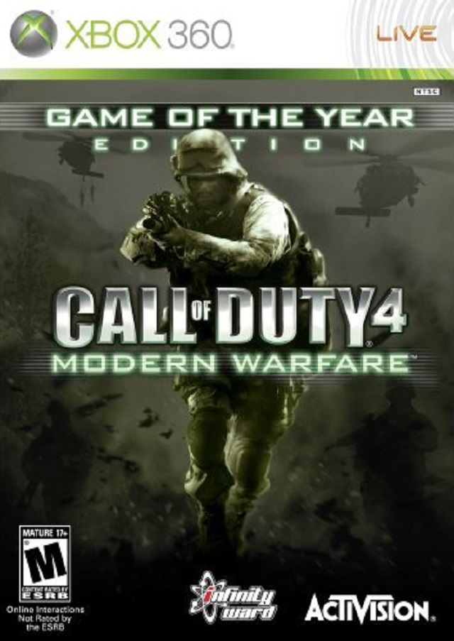 Call Of Duty 4 Modern Warfare Game Of The Year Edition Xbox 360 Game