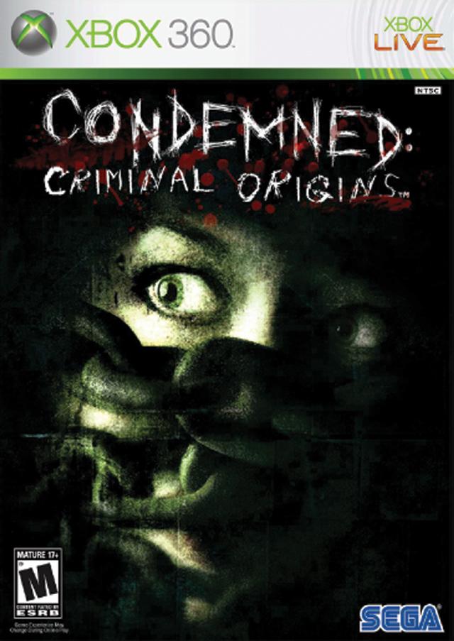 Condemned Criminal Origins Xbox 360 Game