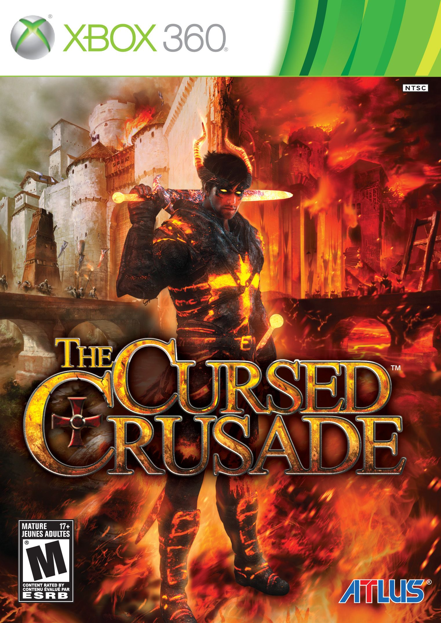 The Cursed Crusade Xbox 360 Game