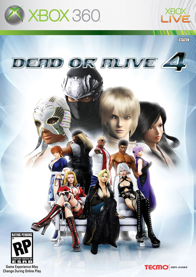 Dead Or Alive 4 Xbox 360 Game