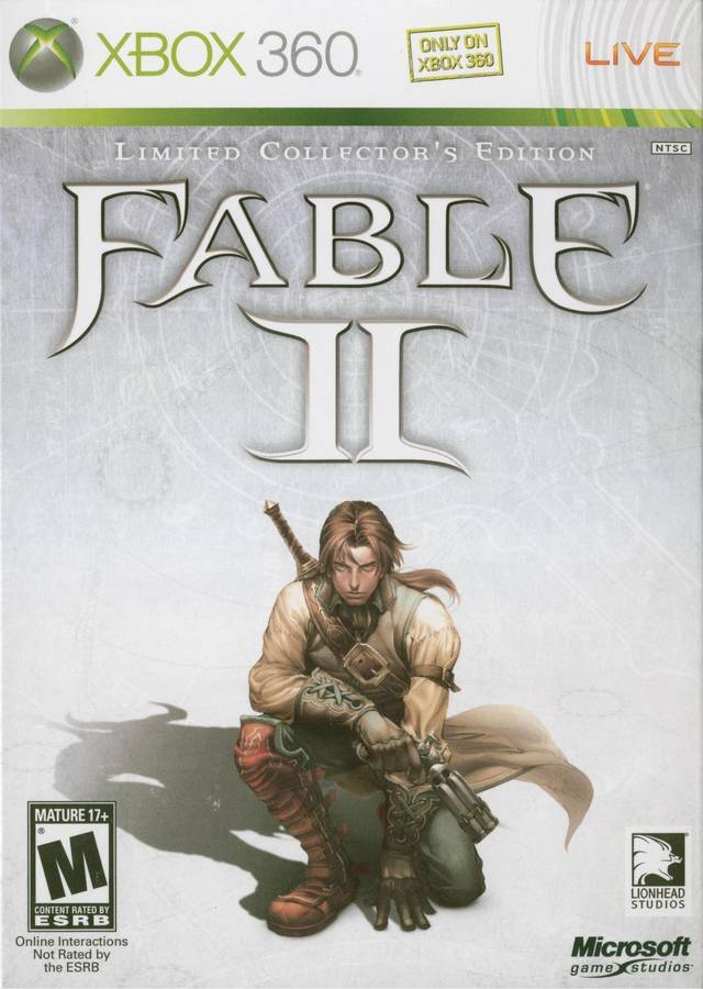 Amazon. Com: fable iii limited collector's edition (xbox 360) pal.