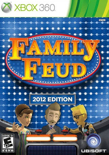 Xbox 360 Games 2012 Family Feud 2012 Xbox ...