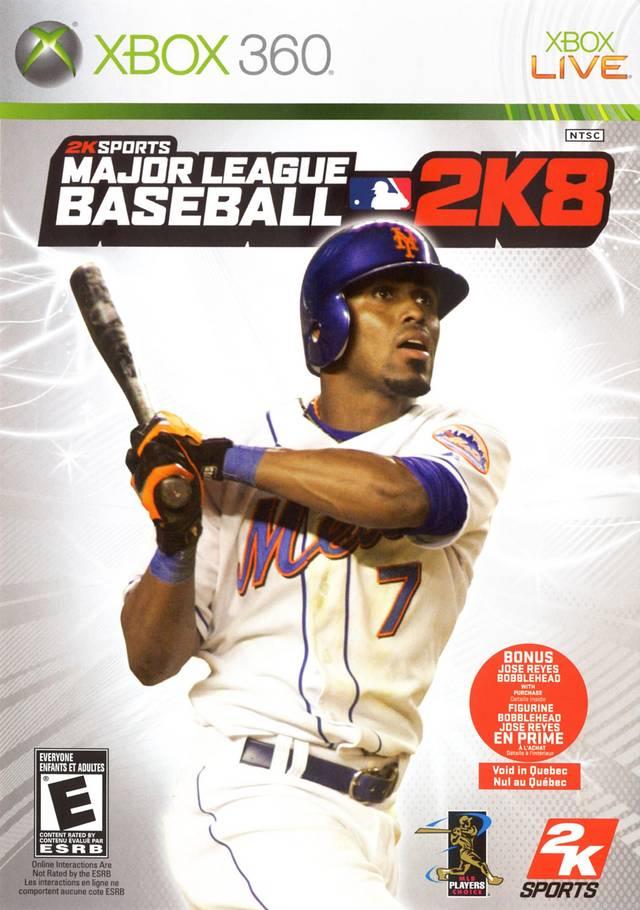 Major League Baseball 2K8 Xbox 360 Game