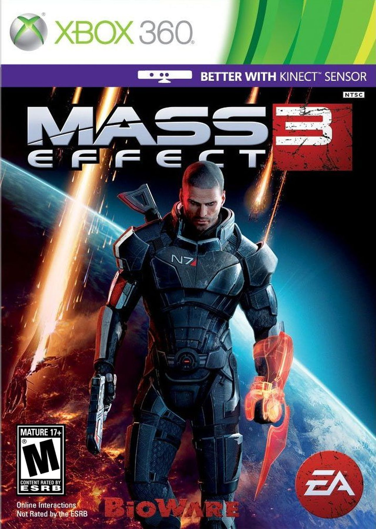 Xbox 360 Games For Xbox 1 : Mass effect xbox game