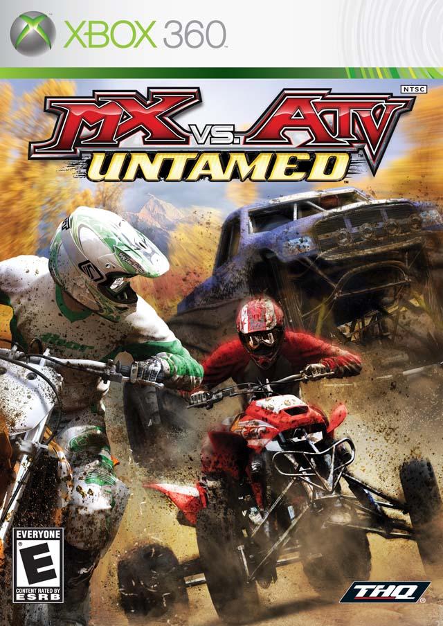Mx vs atv untamed xbox 360 game.