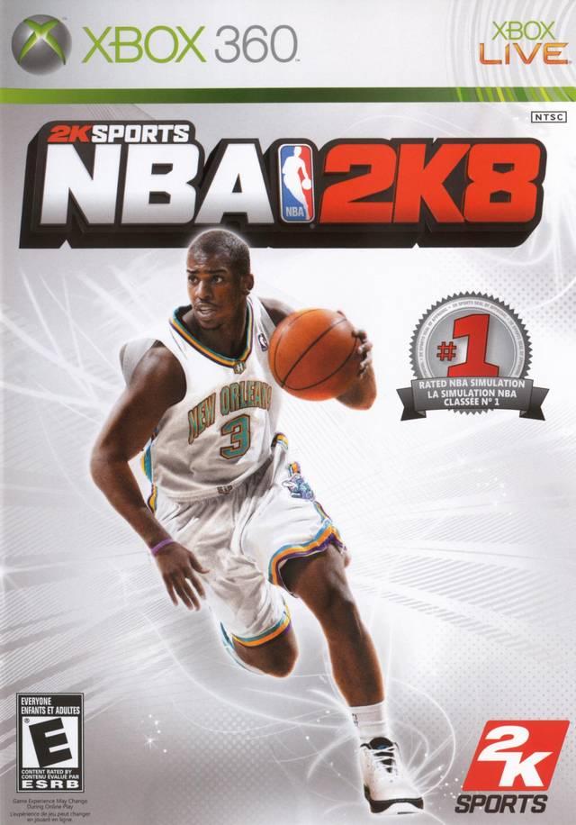 NBA 2K8 Xbox 360 Game