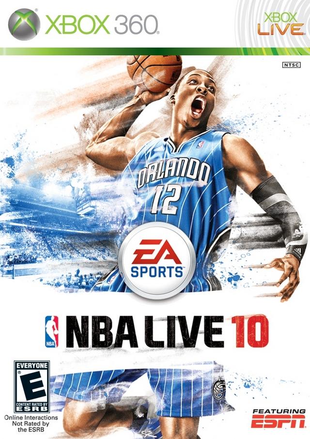 nba live 10 xbox 360 game