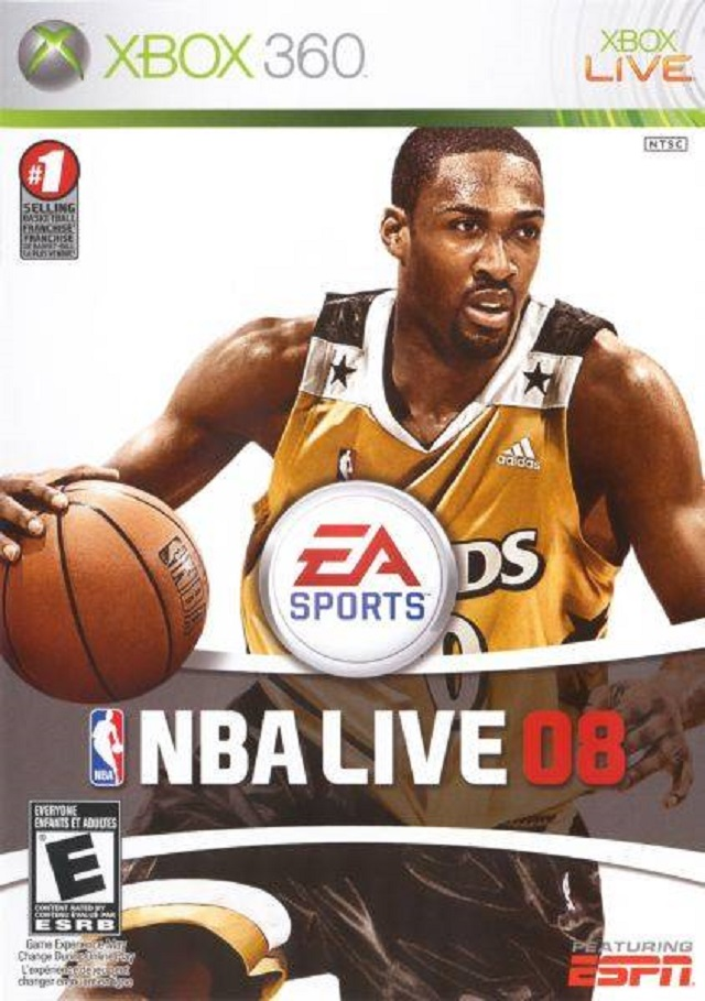 nba live 2008 xbox 360 game
