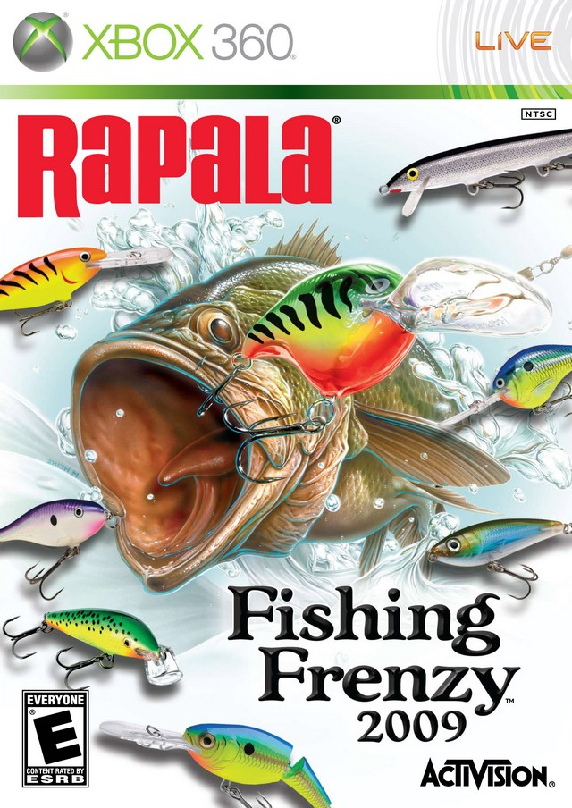 Rapala fishing frenzy xbox 360 game for Xbox fishing games