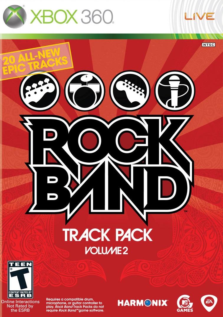 rock band track pack volume 2 xbox 360 game. Black Bedroom Furniture Sets. Home Design Ideas