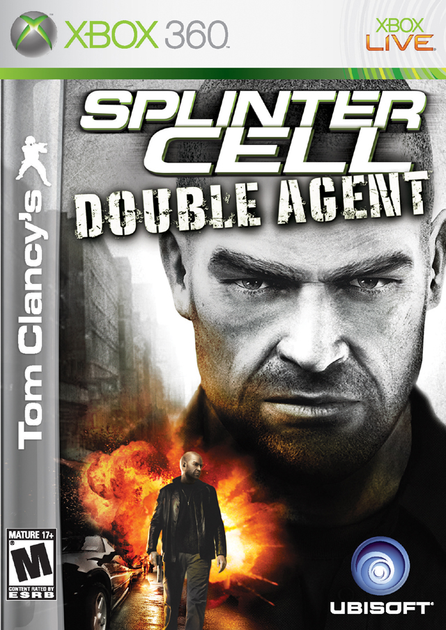 Splinter Cell Double Agent Xbox 360 Game