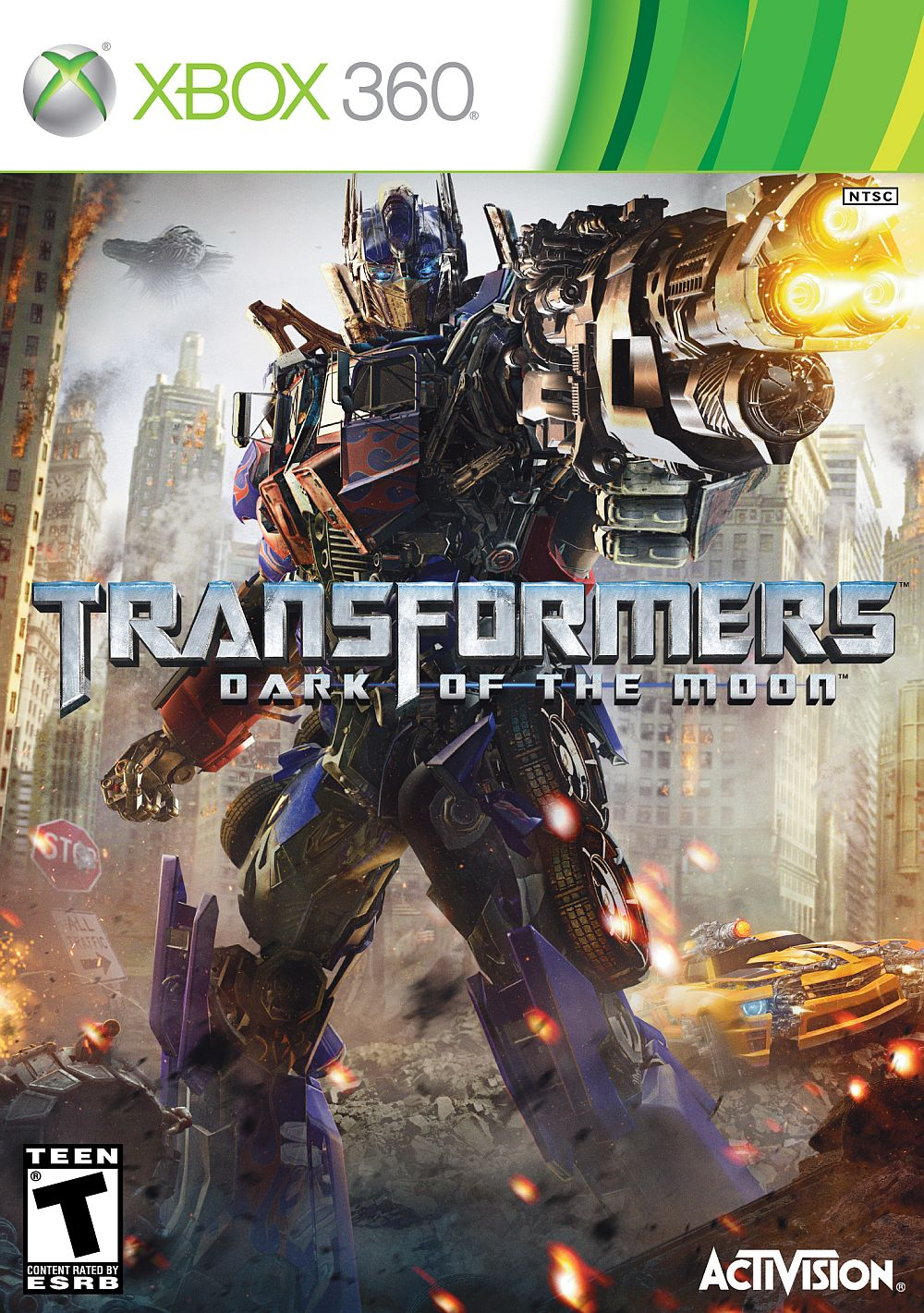 List Of Transformers >> X360 Transformers: Dark of the Moon Xbox 360 game