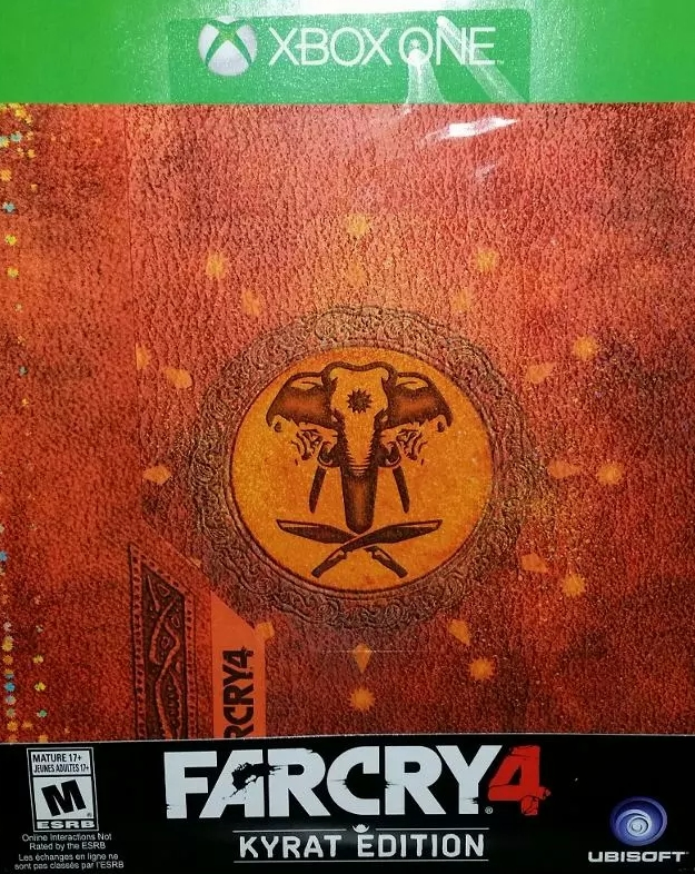 far cry 4 kyrat edition xbox one game. Black Bedroom Furniture Sets. Home Design Ideas