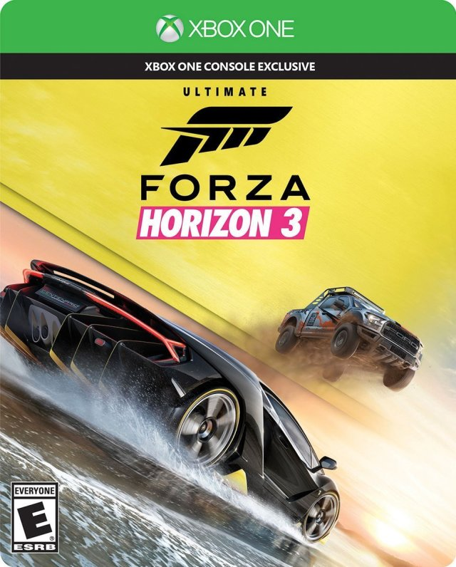 forza horizon 3 ultimate edition xbox one game. Black Bedroom Furniture Sets. Home Design Ideas