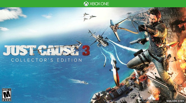 just cause 3 collector 39 s edition xbox one game. Black Bedroom Furniture Sets. Home Design Ideas