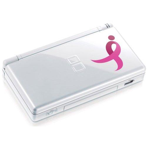 nintendo ds lite pink ribbon edition system. Black Bedroom Furniture Sets. Home Design Ideas