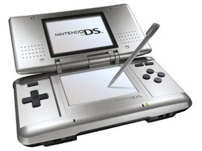 Buy A Silver Nintendo Ds System Discounted