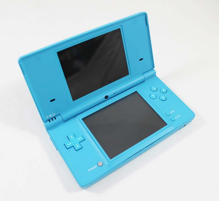 nintendo dsi bright blue system discounted