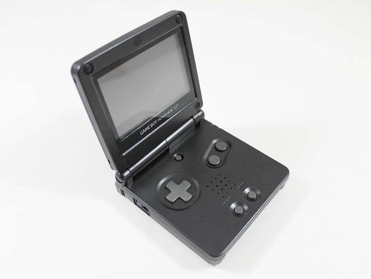 onyx black gameboy advance sp system used rh lukiegames com Nintendo DS Lite Nintendo DS Lite