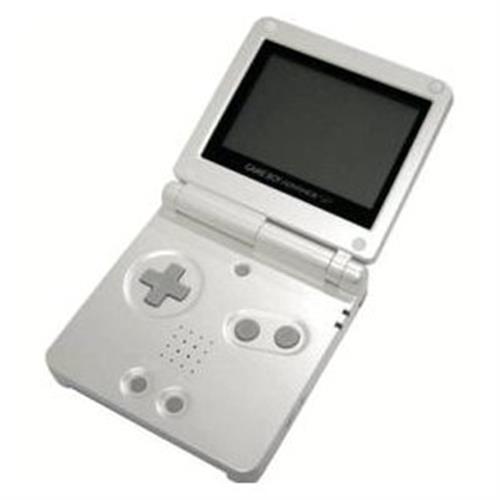 Game Boy Advance Sp : Nintendo game boy advance sp pearl white system