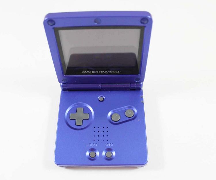 Game Boy Advance Sp : Cobalt blue game boy advance sp system used