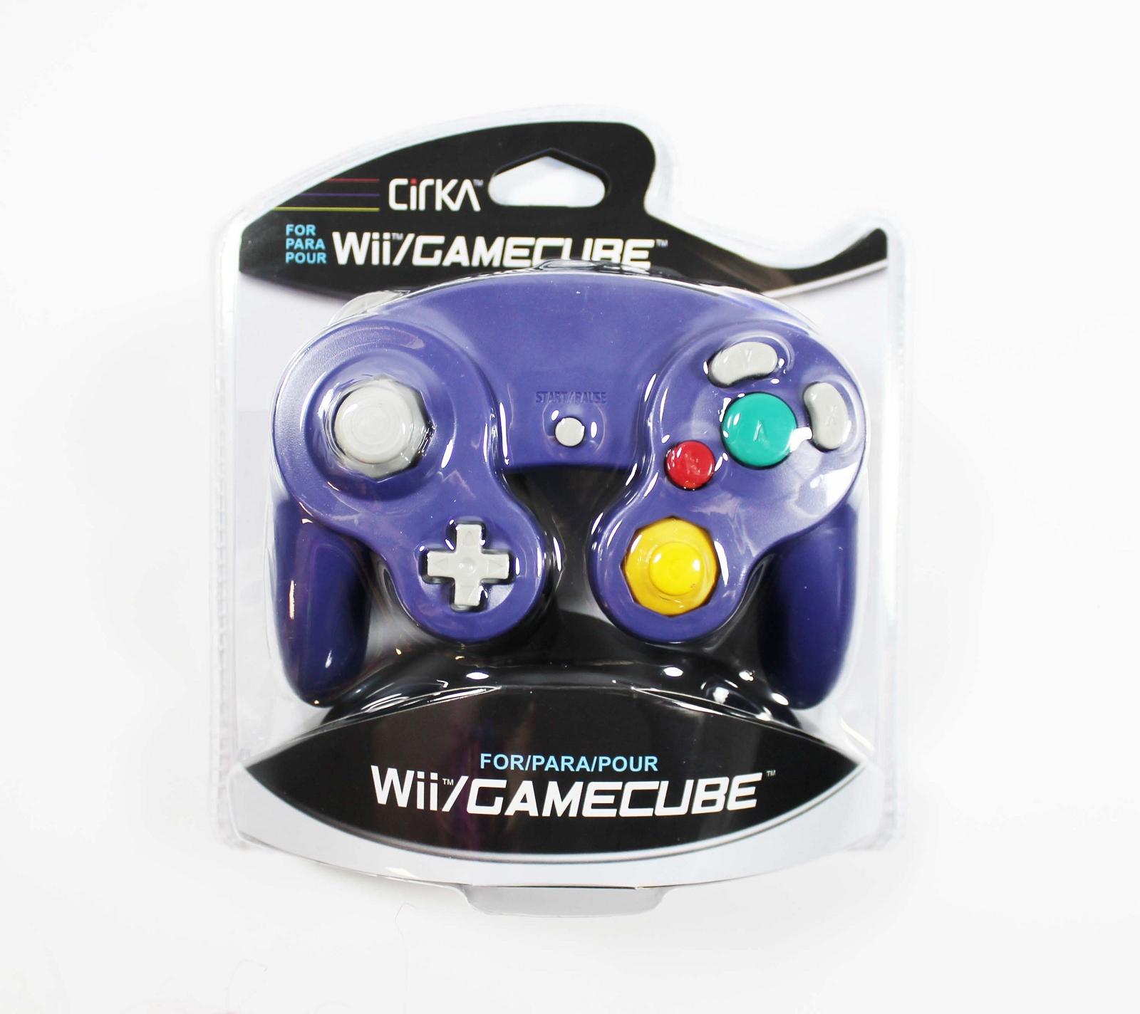 New Nintendo Gamecube Wii Indigo Controller
