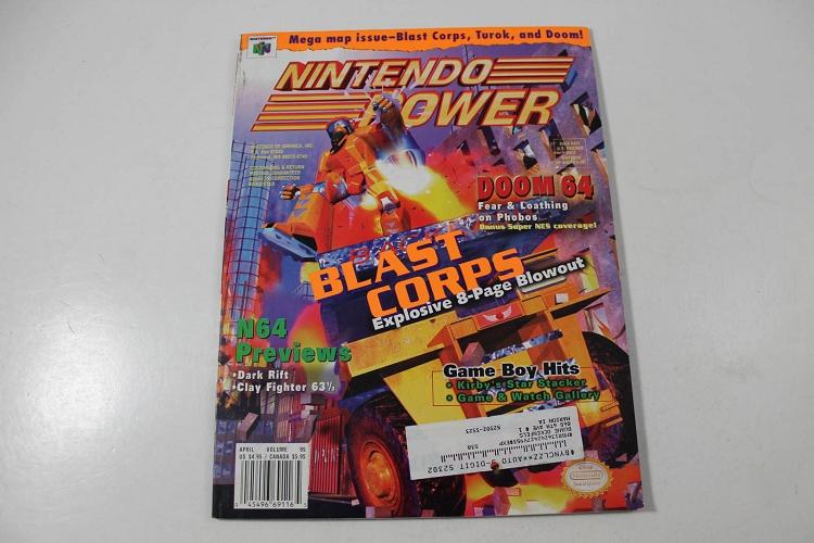 NINTENDO POWER: BLAST CORPS APRIL VOLUME 95
