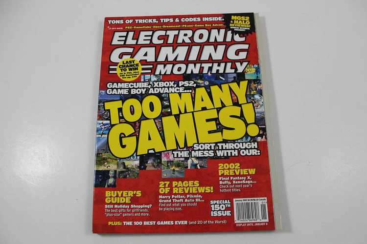 Electronic Gaming Monthly magazine lot - # 46 to 82 - EGM USA