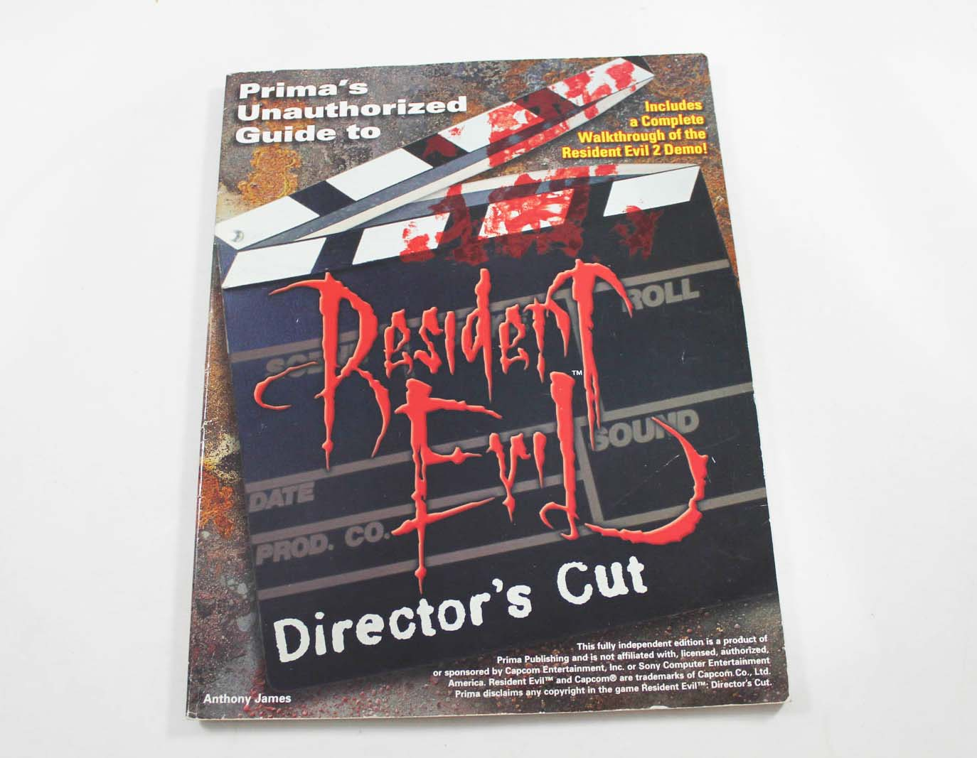 Resident Evil Directors Cut Unauthroized Guide