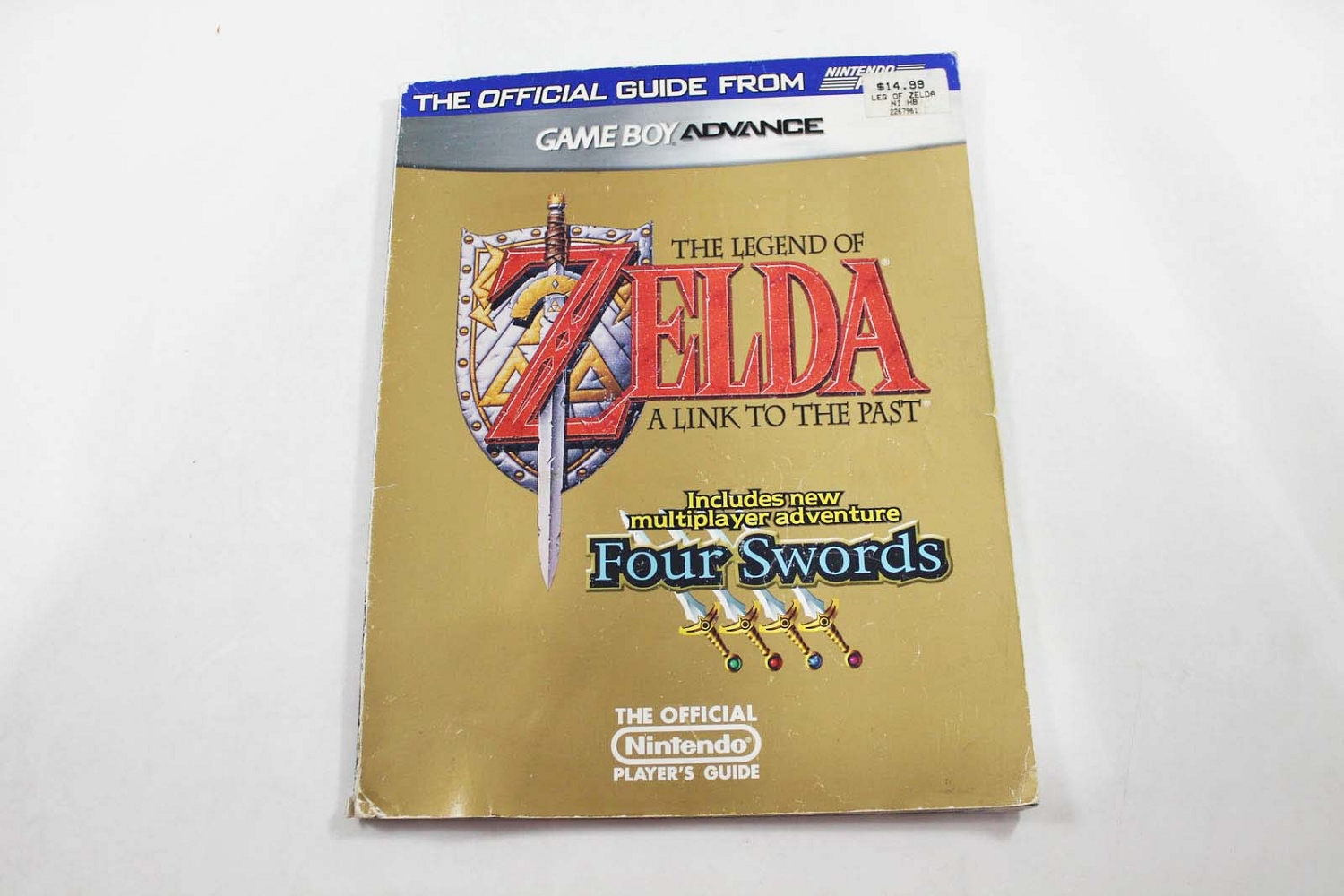 The Legend of Zelda: a Link to the Past/Four Swords Official Players Guide  - Nintendo Power