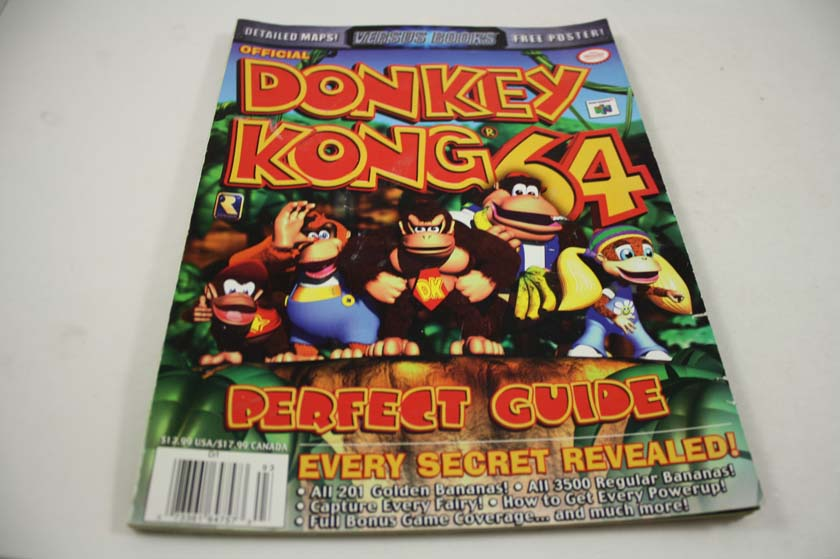 Donkey kong 64 official strategy guide (brady games): bradygames.
