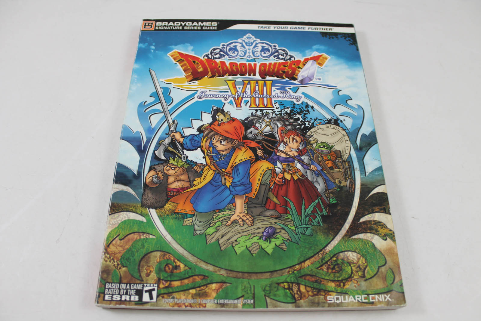 Dragon Quest VIII: Journey Of The Cursed King (Brady Games)