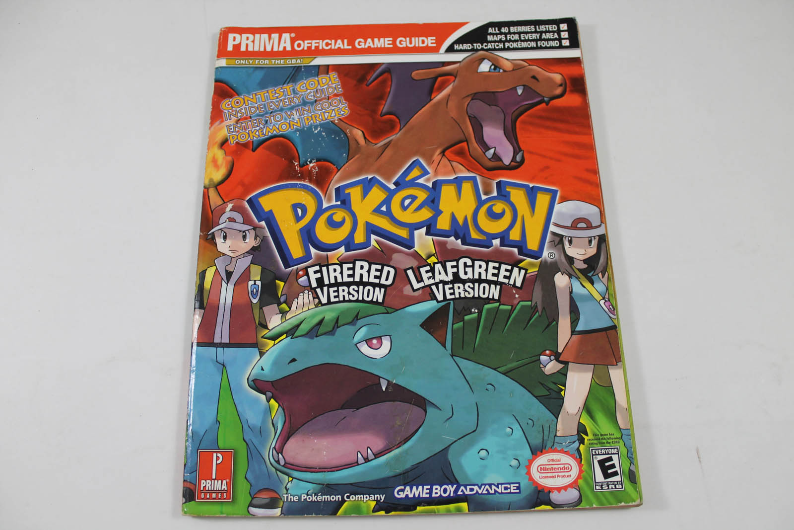 Pokemon Fire Red/Leaf Green Version Prima Games