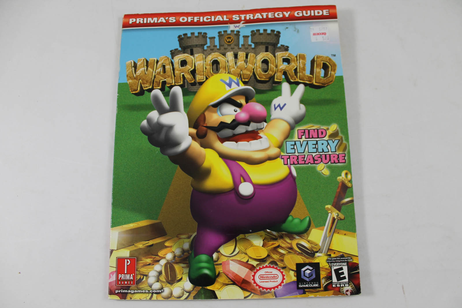 wario world official strategy guide prima rh lukiegames com Wario Land Shake It Wario Master of Disguise