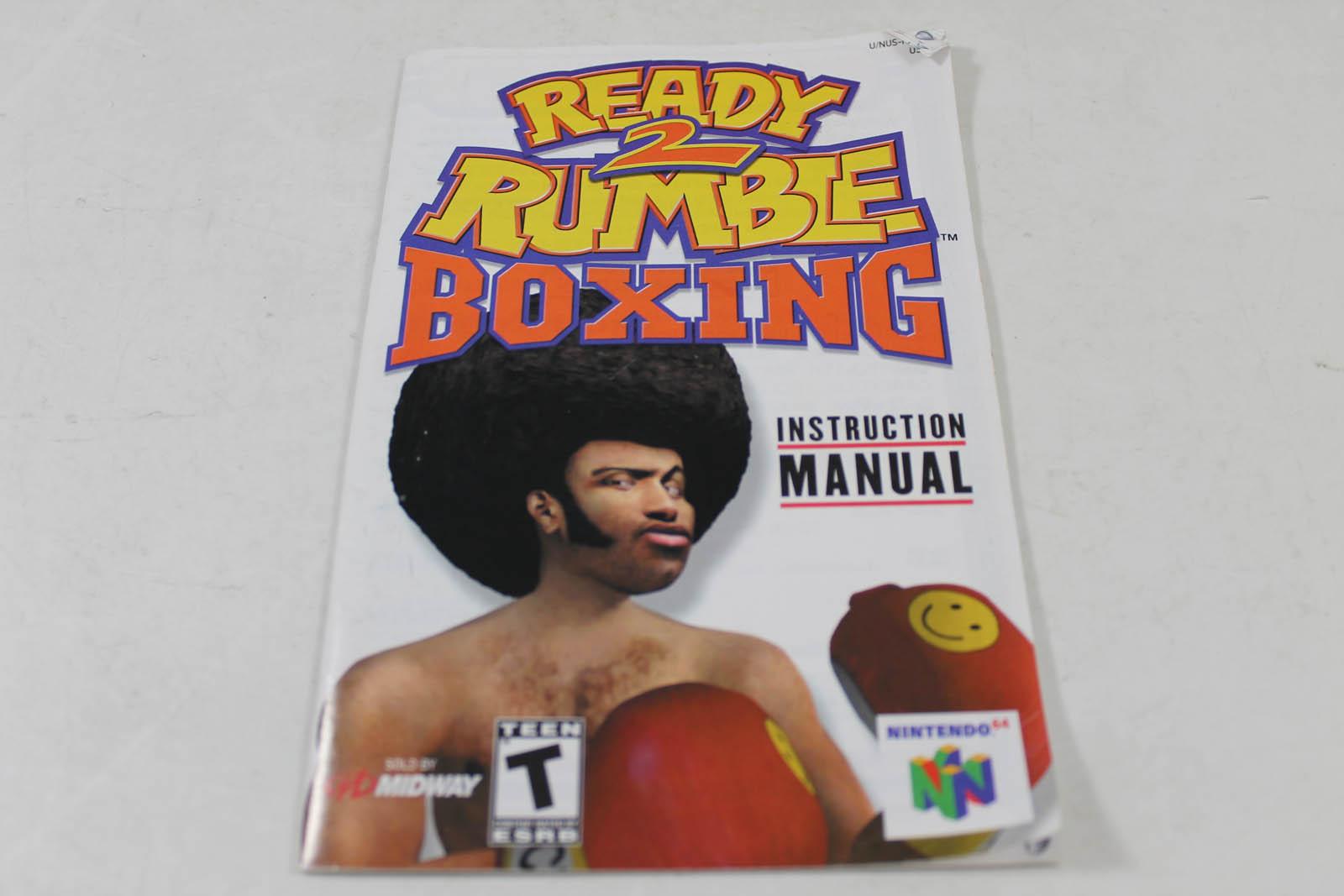 manual - ready 2 rumble boxing