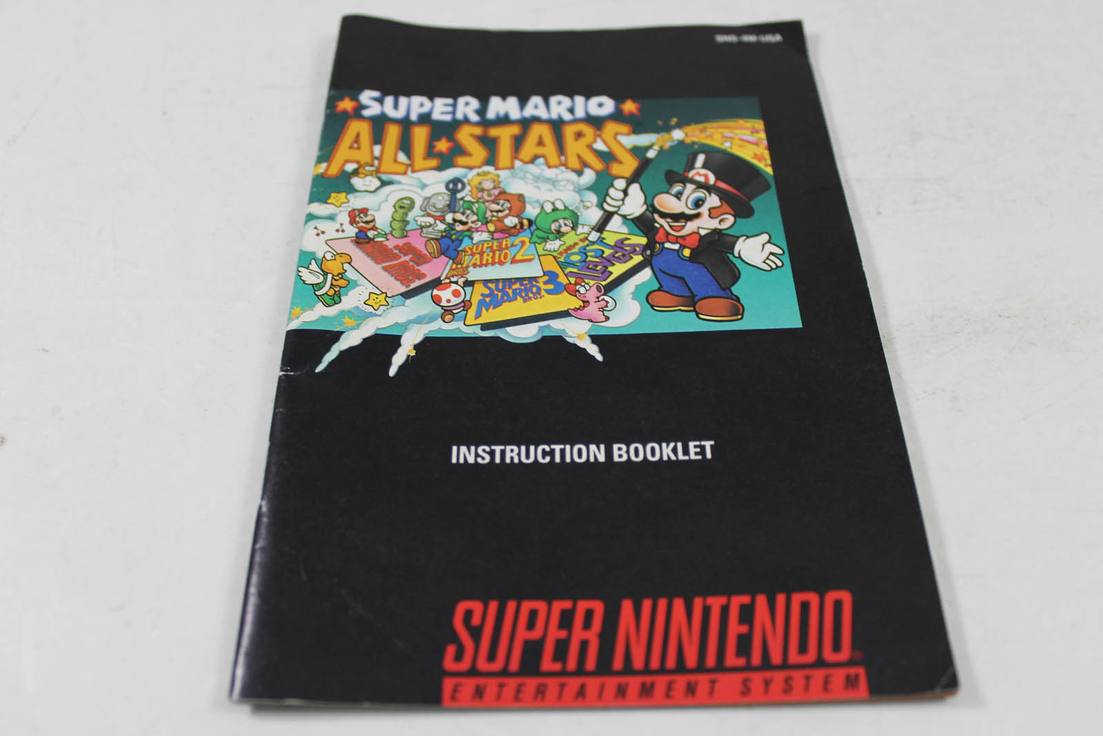 manual super nintendo entertainment system