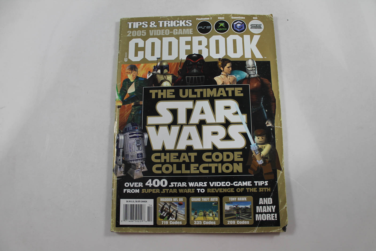 Tips Tricks 2005 Video Game Codebook The Ultimate Star Wars Cheat Code Collection