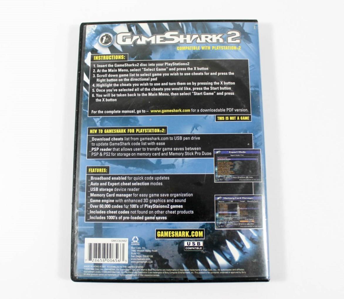 Playstation 2 Gameshark 2 V 1 1