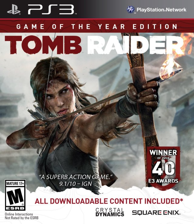 Tomb Raider Game: Tomb Raider: Game Of The Year Edition Playstation 3 Game