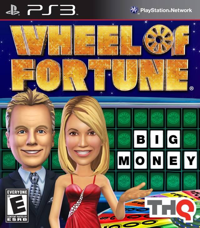 wheel of fortune playstation 3 game. Black Bedroom Furniture Sets. Home Design Ideas