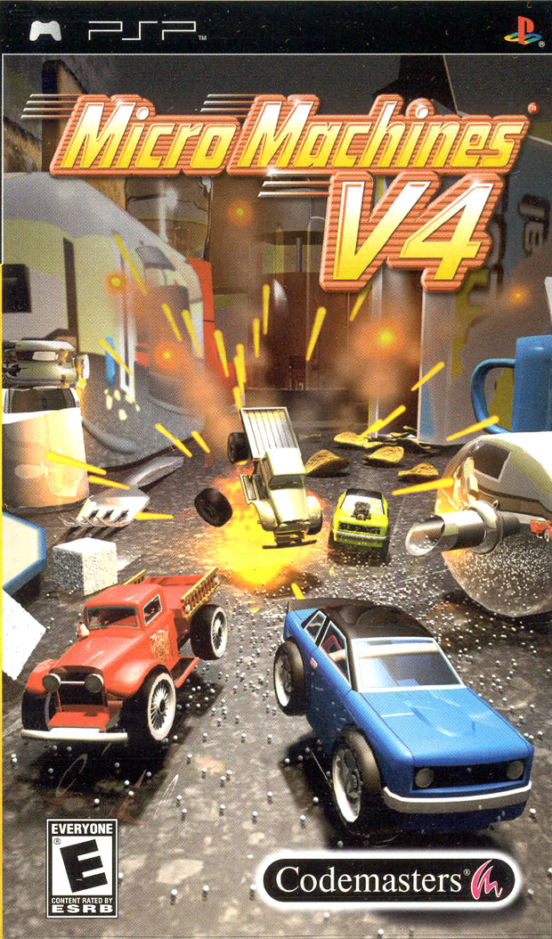Micro Machines V4 Psp Game