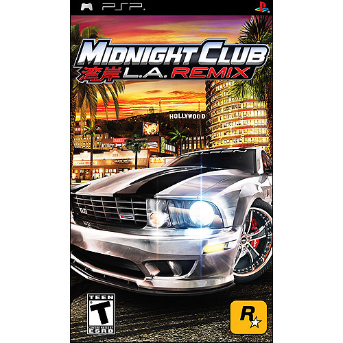 midnight club la remix psp game. Black Bedroom Furniture Sets. Home Design Ideas