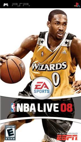 NBA Live 2008 PSP Game