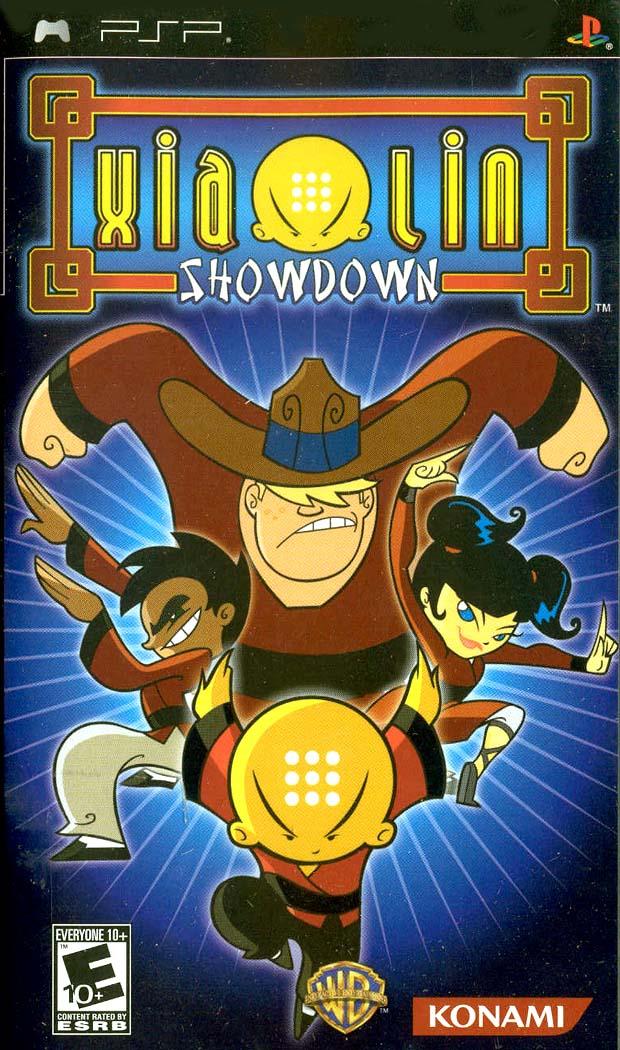 Xiaolin Showdown PSP Game