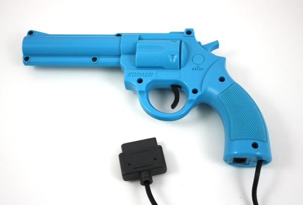 Used Konami Justifier Light Gun For Lethal Enforcers