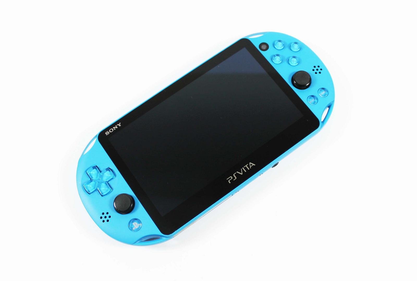 Playstation Vita Slim Aqua Blue PCH-2000 System - Discounted